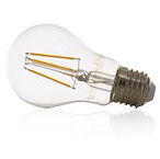 Led E-27 - dimbaar - retro - warm white (clear)
