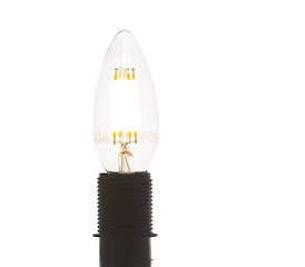 Led E-14 - candle filament - warm white