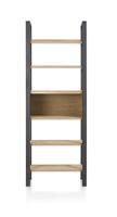 Larissa, boekenkast 70 cm - 6-niches