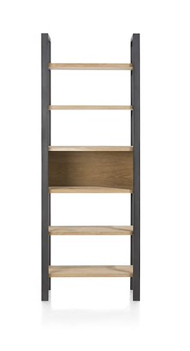Larissa, boekenkast 6-niches - 70 cm