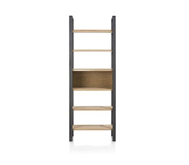 Larissa, boekenkast 70 cm - 6-niches