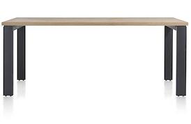 Larissa, eetkamertafel 220 x 100 cm