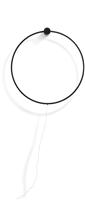 Melissa, wandlamp - diameter 80 cm - geintegreerde LED strip