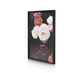 Schilderij Antique rose - 73 x 90 cm