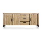 La Cruz, dressoir 3-deuren + 3-laden - 220 cm