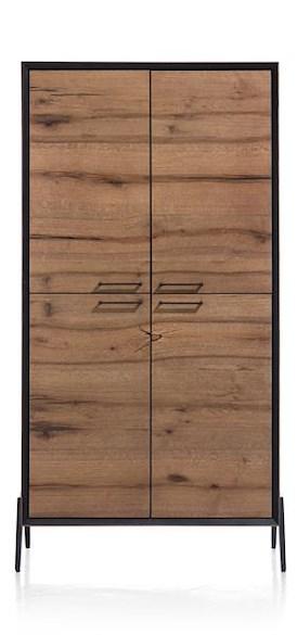 Janella, bergkast 4-deuren - 100 cm