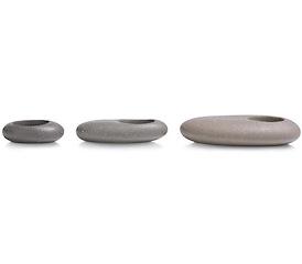 Theelicht Stones - set van 3
