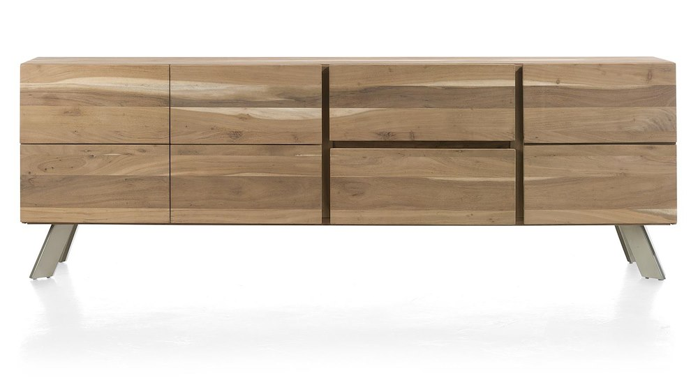 garda sideboard 3 tueren 2 laden 220 cm. Black Bedroom Furniture Sets. Home Design Ideas