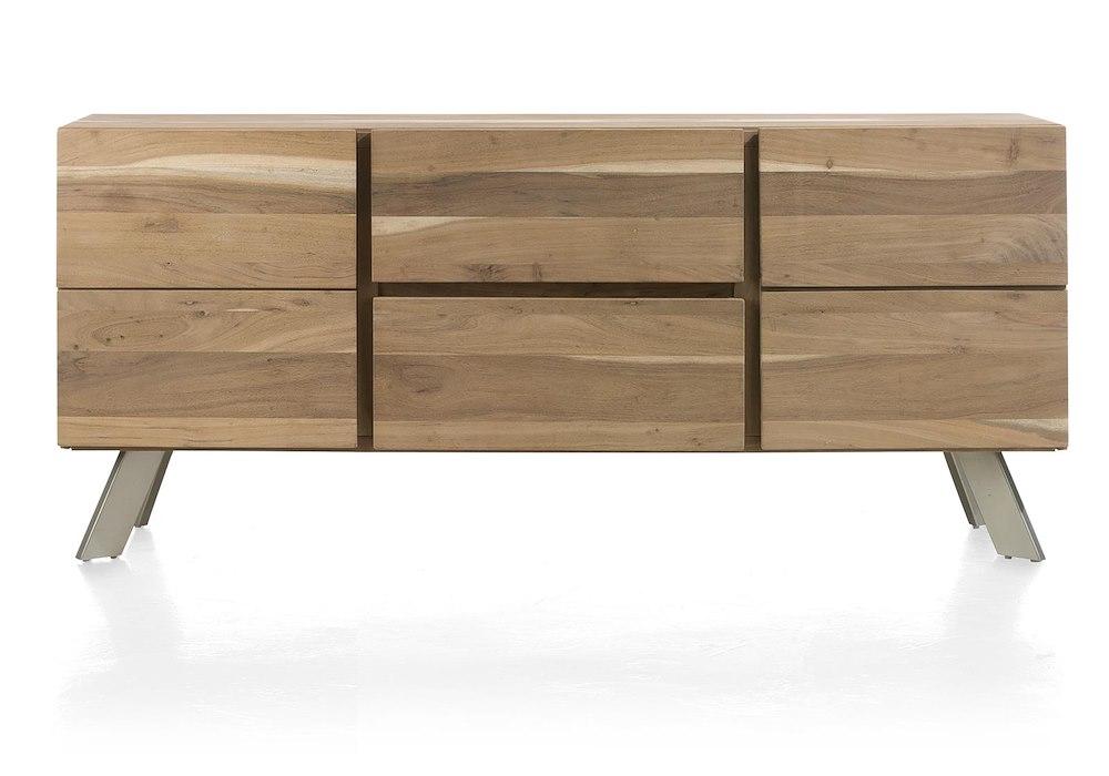 garda sideboard 2 tueren 2 laden 180 cm. Black Bedroom Furniture Sets. Home Design Ideas