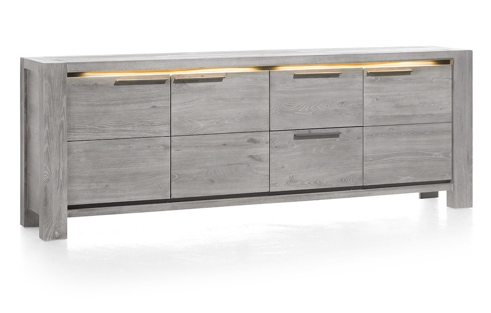 montero sideboard 3 tueren 2 laden 240 cm. Black Bedroom Furniture Sets. Home Design Ideas