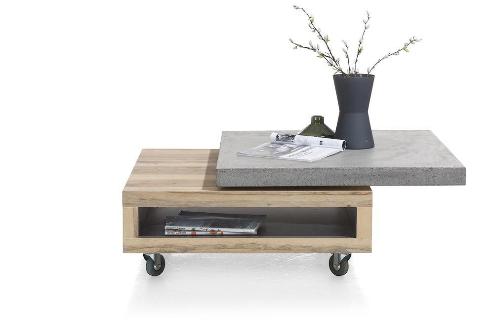 myland couchtisch 80 x 80 cm 1 nische drehbar. Black Bedroom Furniture Sets. Home Design Ideas