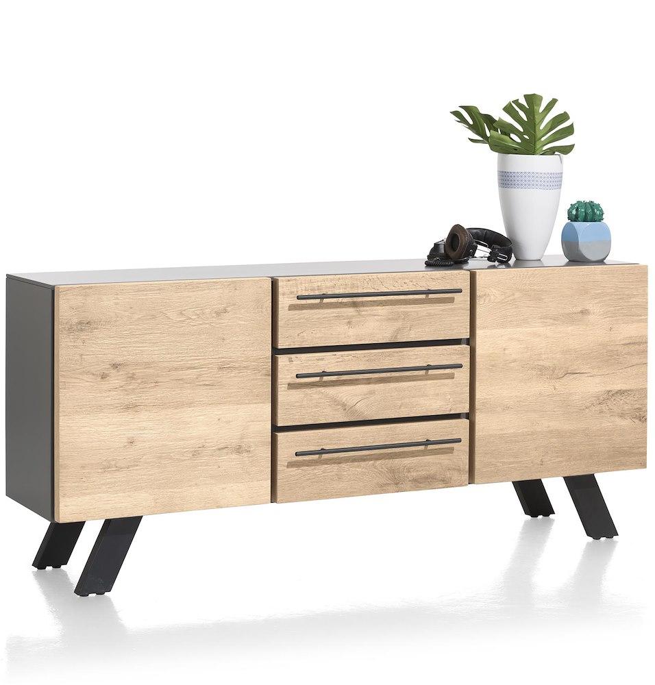 vinovo sideboard 2 tueren 3 laden 180 cm. Black Bedroom Furniture Sets. Home Design Ideas