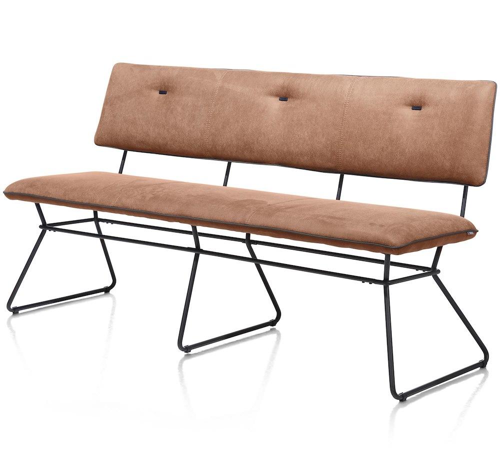 otis sofa 160 cm schwarz gestell kibo antr lady biese kibo antrazit. Black Bedroom Furniture Sets. Home Design Ideas