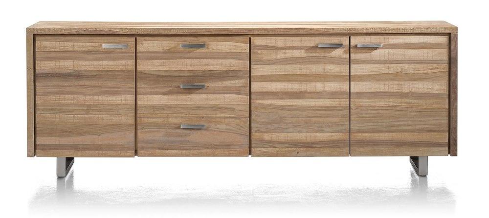 piura sideboard 3 tueren 3 laden 240 cm. Black Bedroom Furniture Sets. Home Design Ideas