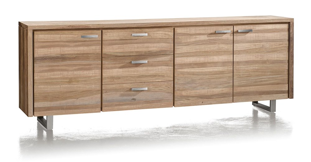 piura sideboard 3 tueren 3 laden 240 cm. Black Bedroom Furniture Sets. Home Design Ideas