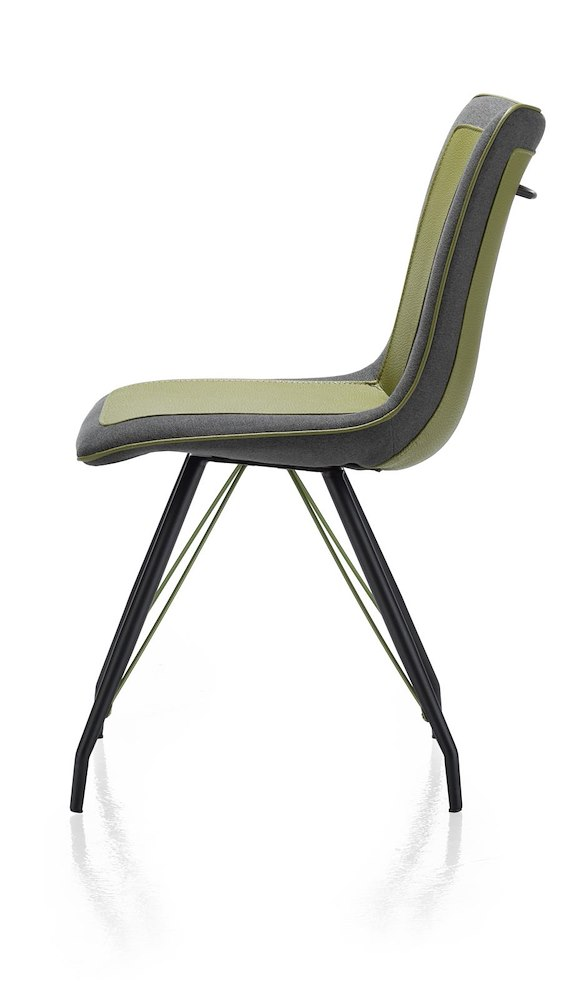 jax stuhl metall gestell schwarz tatra blues combi. Black Bedroom Furniture Sets. Home Design Ideas