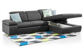 Arhus, 2.5-sitzer + Longchair + Box Rechts - Fix