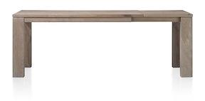 Masters, Ausziehtisch 160 (+ 60) X 90 - Holz 12x12/10x14