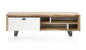 Vista, Tv-sideboard 1-klappe + 4-nischen - 140 Cm