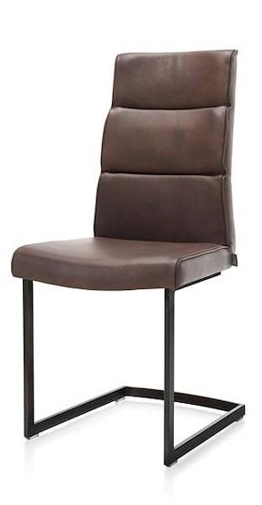Jascha, Stuhl Swing Metall Schwarz