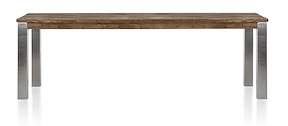 Masters, Tisch 240 X 100 Cm - Edelstahl 9x9