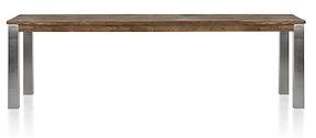 Masters, Tisch 260 X 100 Cm - Edelstahl 9x9