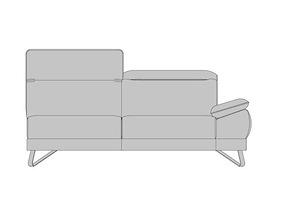 Breda, 3-sitzer Armlehne Rechts - Auszug System