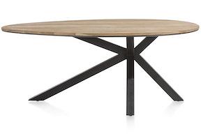 Colombo, Tisch 200 X 120 Cm - Massiv Eiche + Mdf