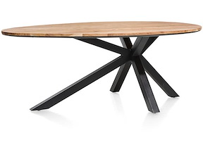 Colombo, Tisch 200 X 120 Cm - Massiv Kikarholz