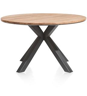 Colombo, Tisch Rund 130 Cm - Massiv Kikarholz
