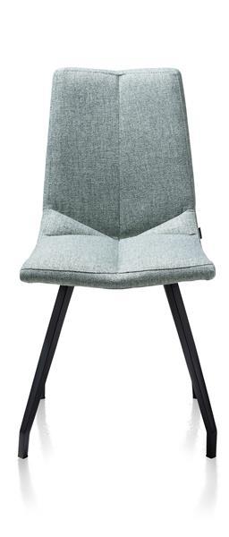 Artella, Stuhl 4 Fuesse Schwarz - Lady Grau Oder Mint