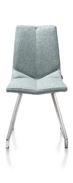 Artella, Stuhl 4 Fuessen Edelstahl - Lady Grau Oder Mint