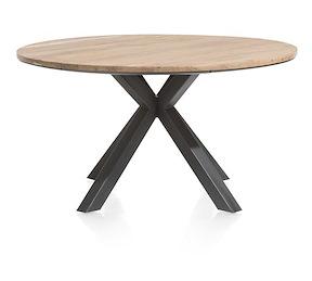 Colombo, Tisch Rund 150 Cm Massiv Eiche + Mdf