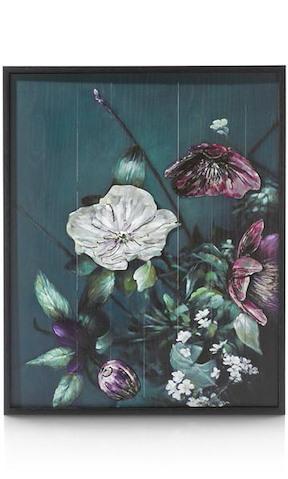 Bild Mit Metall Bouquet - 73 X 90 Cm