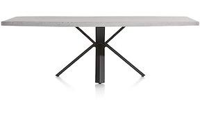 Maddox, Tisch 250 X 100 Cm - Beton - Stern Fuss
