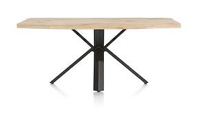 Maddox, Tisch 190 X 100 Cm - Holz - Stern Fuss
