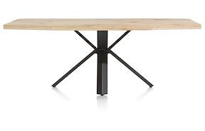 Maddox, Tisch 220 X 100 Cm - Holz - Stern Fuss
