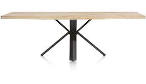 Maddox, Tisch 250 X 100 Cm - Holz - Stern Fuss