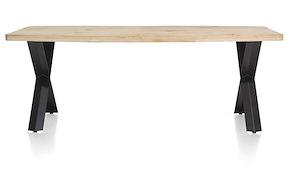 Maddox, Tisch 220 X 100 Cm - Holz - X-fuss