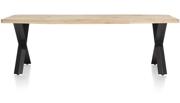 Maddox, Tisch 250 X 100 Cm   Holz   X Fuss