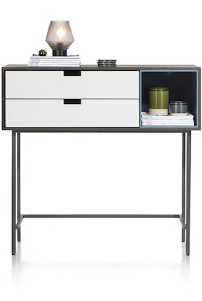 Glasgow, Sideboard Hoch 113,5 Cm - 2-laden + 1-box