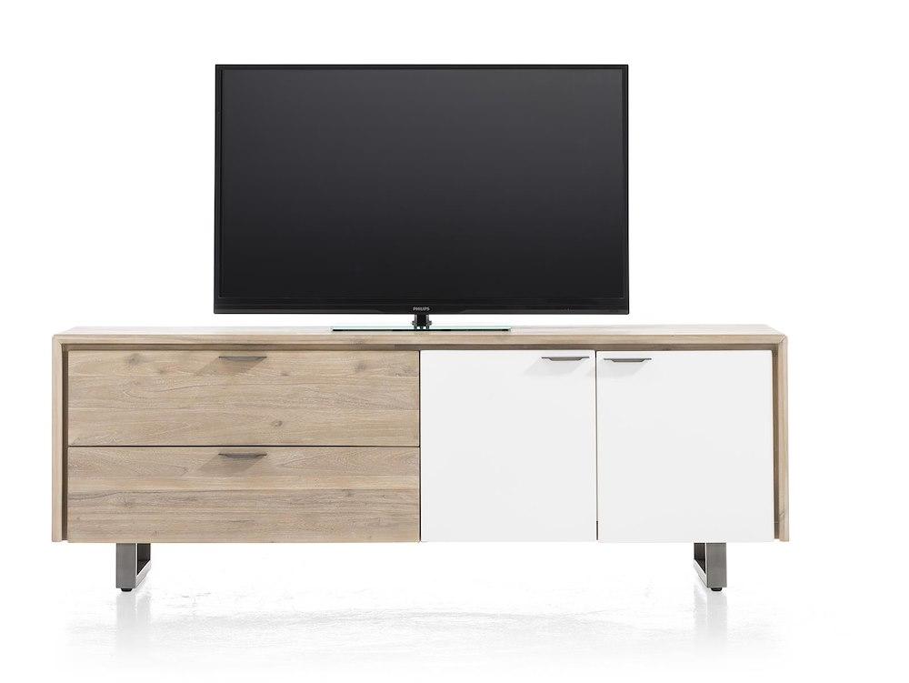verano lowboard 2 deuren 2 laden 180 cm. Black Bedroom Furniture Sets. Home Design Ideas
