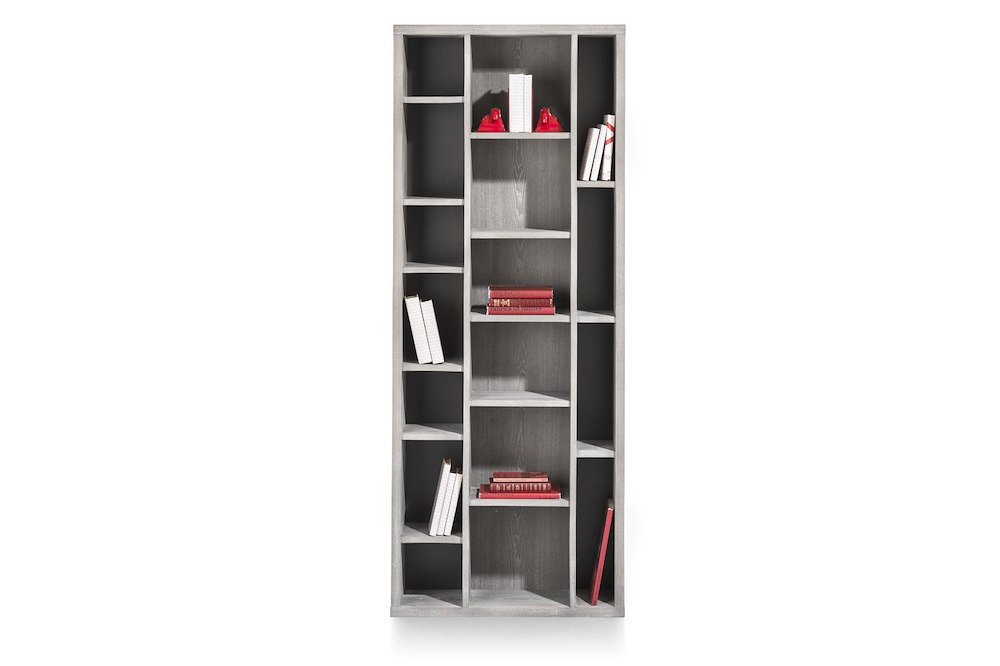 montero boekenkast 17 niches 190 cm