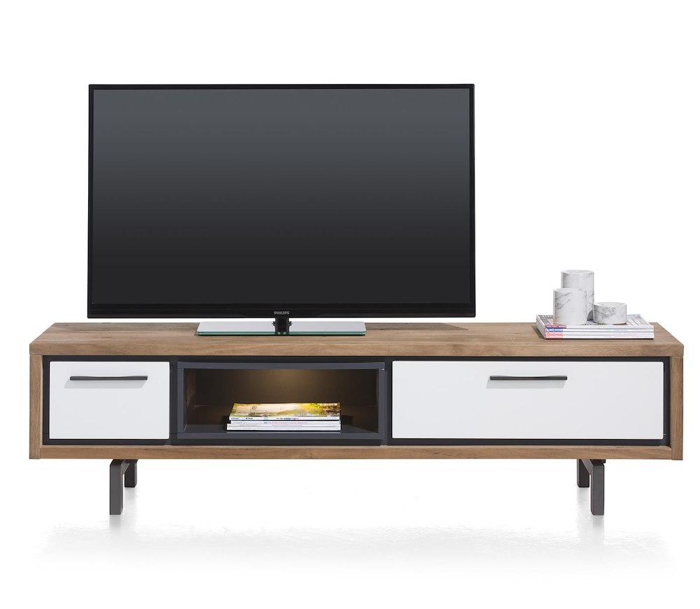 otta tv dressoir 1 lade 1 klep 1 niche 170 cm led. Black Bedroom Furniture Sets. Home Design Ideas