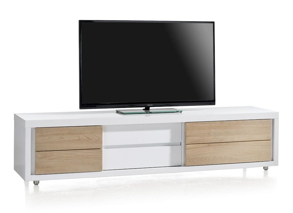 byron bay tv dressoir 2 schuifdeuren 1 lade 190 cm. Black Bedroom Furniture Sets. Home Design Ideas