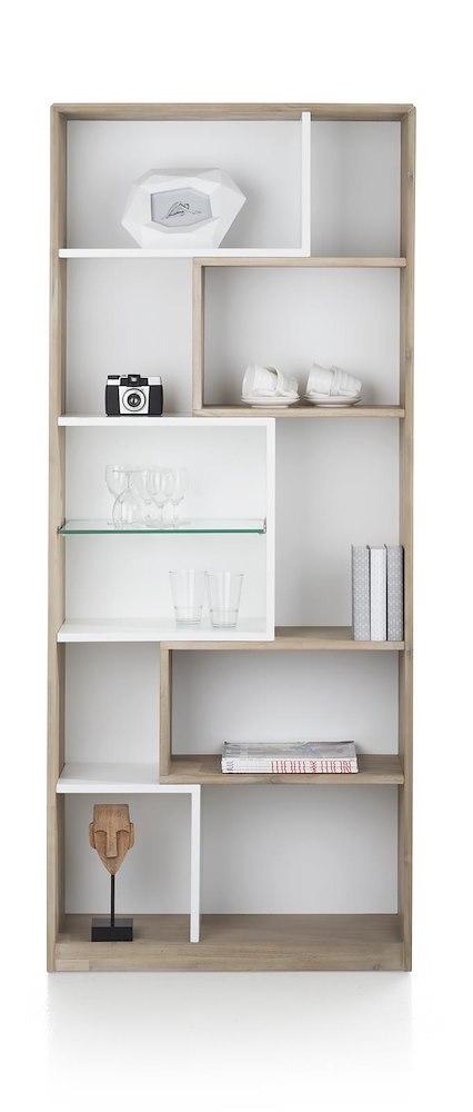 Verano, boekenkast 11-niches - 80 cm