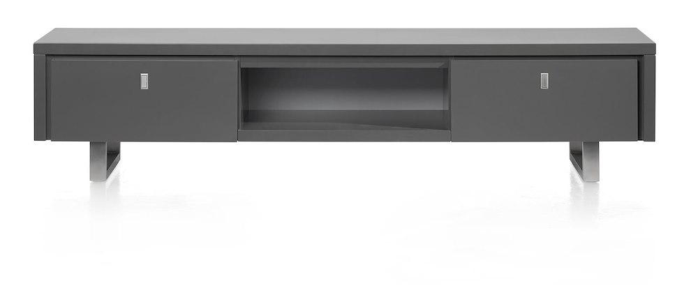 Fortelano, tv-dressoir 2-laden + 1-niche 190 cm