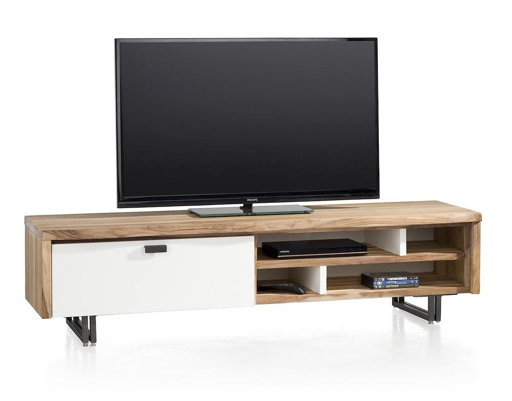vista tv dressoir 1 klep 4 niches 170 cm. Black Bedroom Furniture Sets. Home Design Ideas