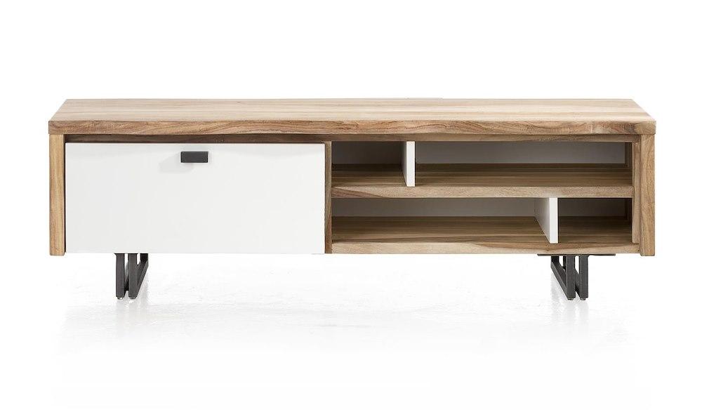 Vista, tv-dressoir 1-klep + 4-niches - 140 cm