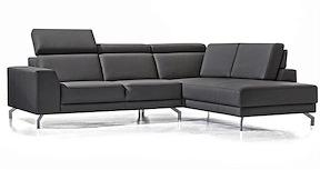 Tomman, 2.5-zits + Longchair Rechts